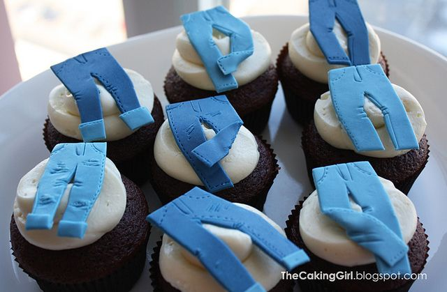 denim_cupcakes by TheCakingGirl, via Flickr