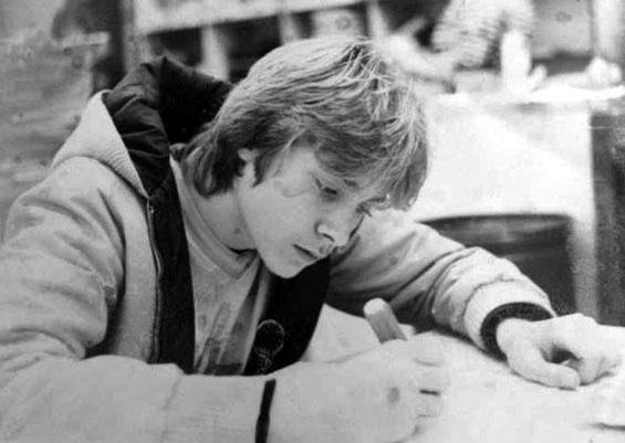 Young Kurt Cobain #Nirvana