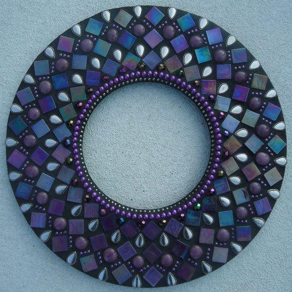 Mosaic Mirror by BrokenBeautyMosaics on Etsy, $99.00
