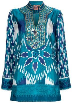 Tory Burch 'Night Sky' kaftan top   More maternity here: http://mylusciouslife.com/historical-maternity-fashion-style-across-the-ages/