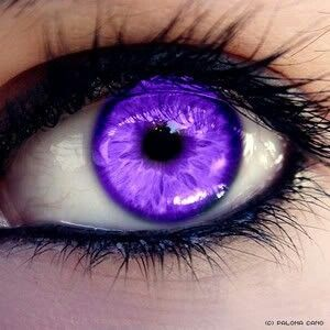 """So, what brand did you use?"" ""I'm sorry?"" ""What brand... Of color contacts?"" ""Oh. It's called my parents genes. I have a disease that turns my eyes purple."" ""Hmm, yeah never heard that one before. Seriously though, what kind?"""