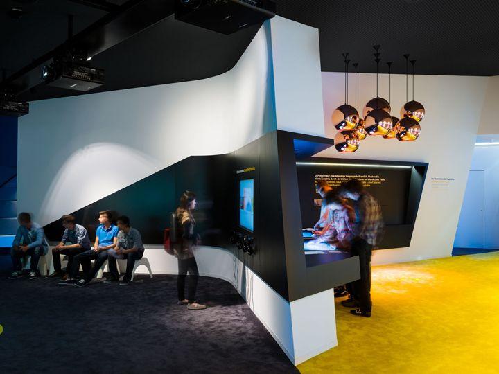 SAP 40 Years Of Future Pavilon SCOPE Germany Exhibit