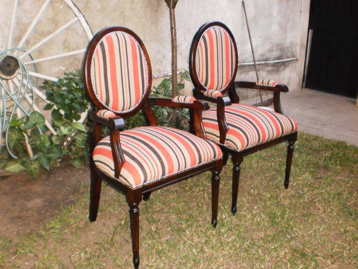 Sillones luis xvi aprigliano muebles muebles de estilo y - Sillones estilo vintage ...