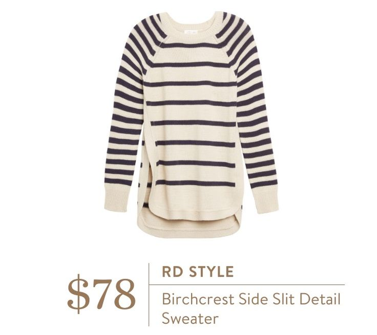 Stitch Fix RD Style Birchcrest Side Slit Detail Sweater
