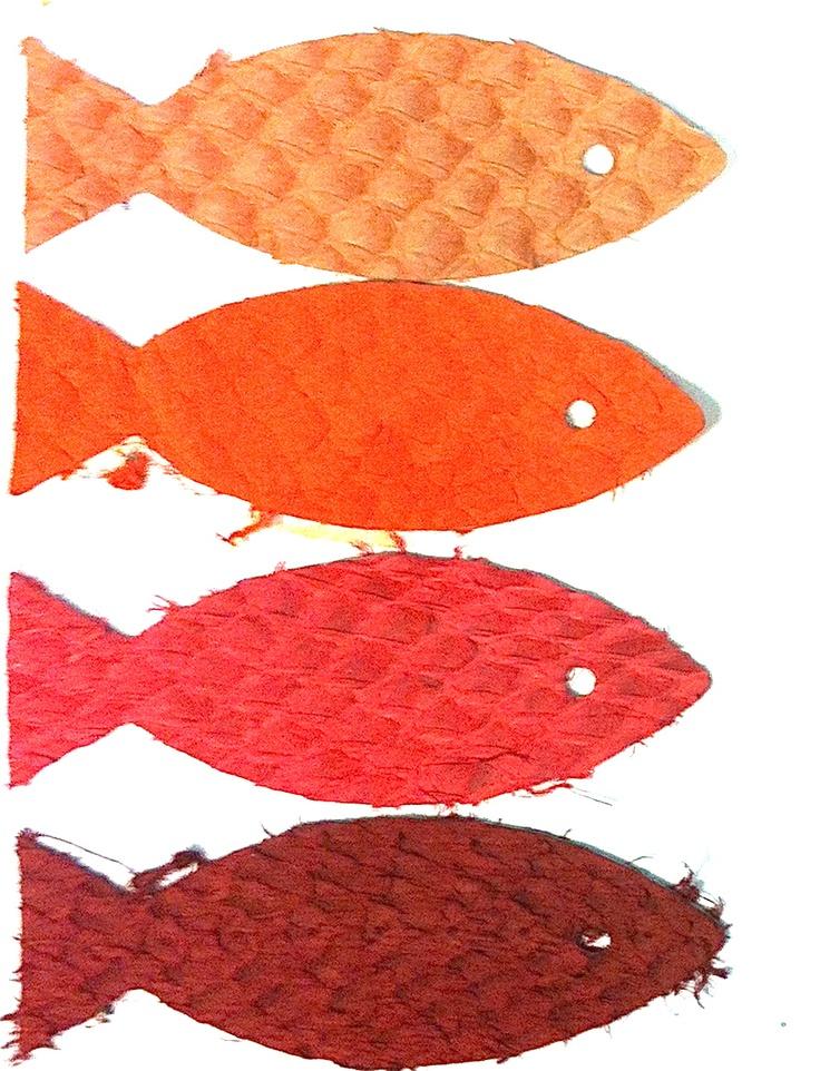 Kabeljauwleer, roodtinten