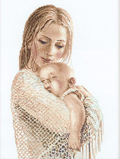 Tenderness Baby Cross Stitch Kit By Riolis