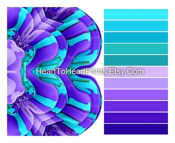 Purple Teal Wall Art Lilac Turquoise Art Prints Purple Teal Wall Art Purple Wall Decor Grey Wall Art