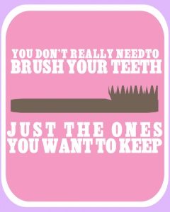 free printable. Very cute for the girls bathroom!