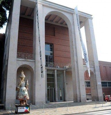 #Triennale Milano. Il Palazzo dell'Arte progettato da Giovanni Muzio ospiterà dal 10 aprile 2015 l'Area Tematica #Expo2015 Arts & Foods.