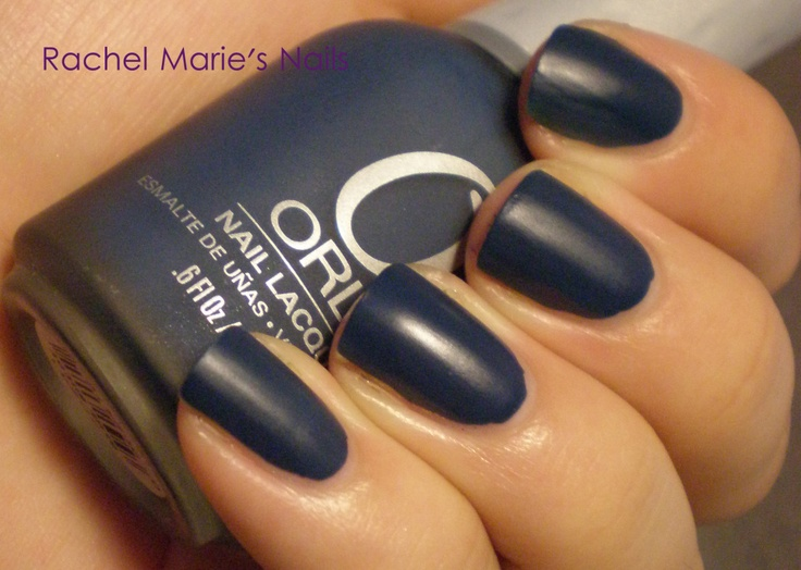 Orly Blue Suede.
