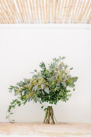 Bouquet da sposa senza fiori