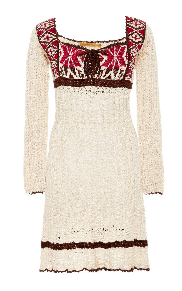 Long Sleeve Indie Dress - Vanessa Montoro Resort 16 - Preorder now on Moda Operandi