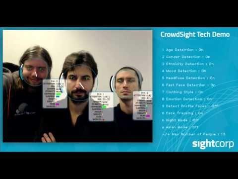CrowdSight SDK - Crowd Face Analysis Software | Sightcorp