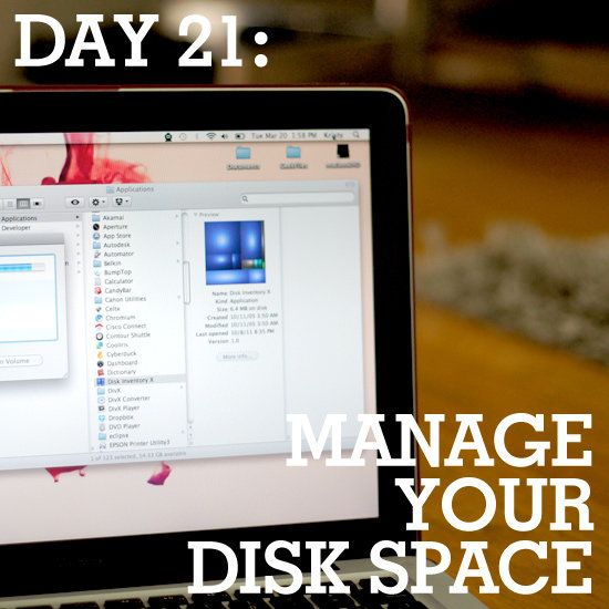 how to clean your disk space