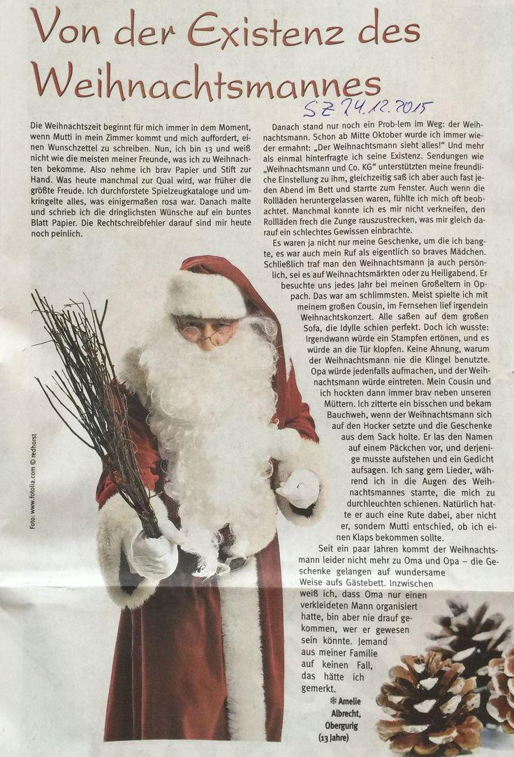 Bevor es in die wohlverdienten Feiertage geht, haben wir noch eine kleine Weihnachtsgeschichte für euch: