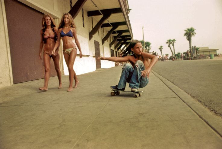 Dogtown. Southern California, mid-1970s.