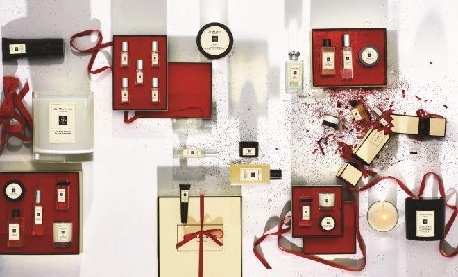 Jo Malone Christmas Gift Giving Visual