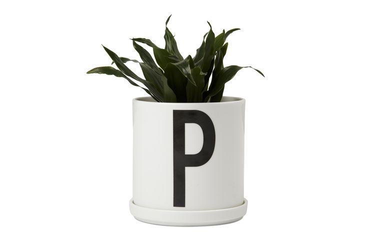 Plantholder by Design Letters