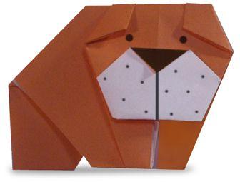 Origami Bulldog