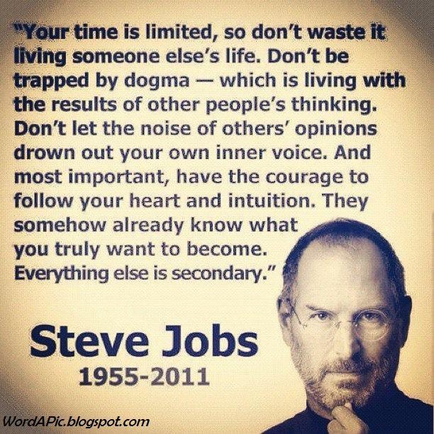 Steve Jobs Famous Words