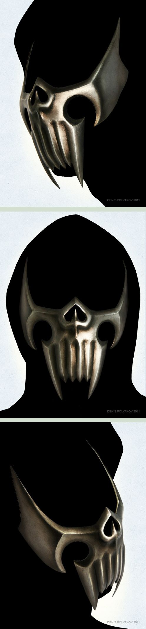 Assassin mask by ~DenisPolyakov on deviantART