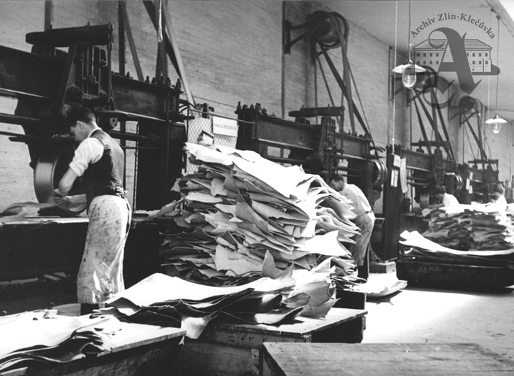 Tannery, Otrokovice, 1937
