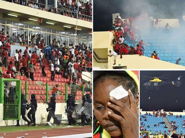 Victoria Ghanei, umbrita de violentele din tribune! - http://fthb.ro/victoria-ghanei-umbrita-de-violentele-din-tribune/