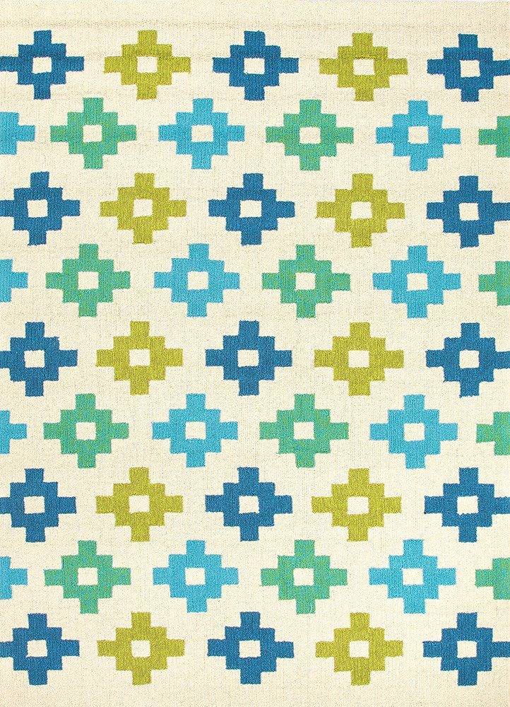 Mediterranean Tiles Outdoor Rug