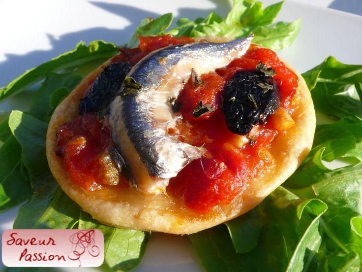 En été, les anchois (II) : tarte fine à l'anchois frais - SAVEUR PASSION