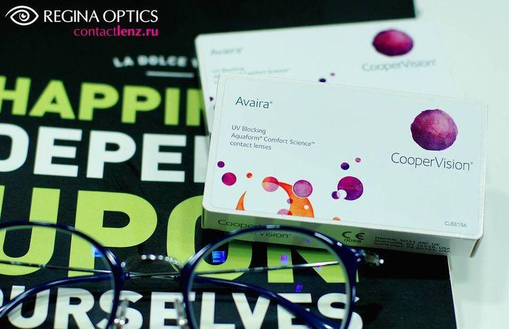 9 отметок «Нравится», 1 комментариев — Regina Optics (@regina_optics) в Instagram: «Покупайте премиальные контактные линзы Avaira, Biofinity, MyDay и др. от CooperVision в нашем…»