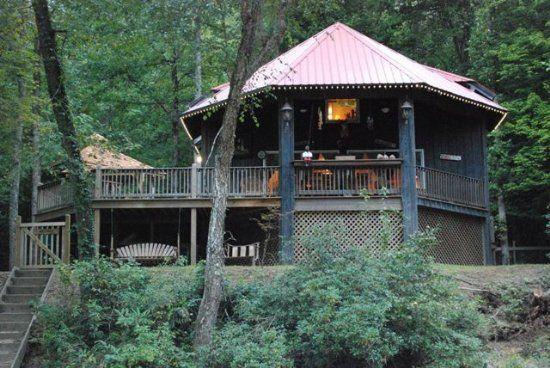 Helen, GA Cabin Rentals | Chattahoochee Breeze | Perfect 2 Bedroom Cabin on the River