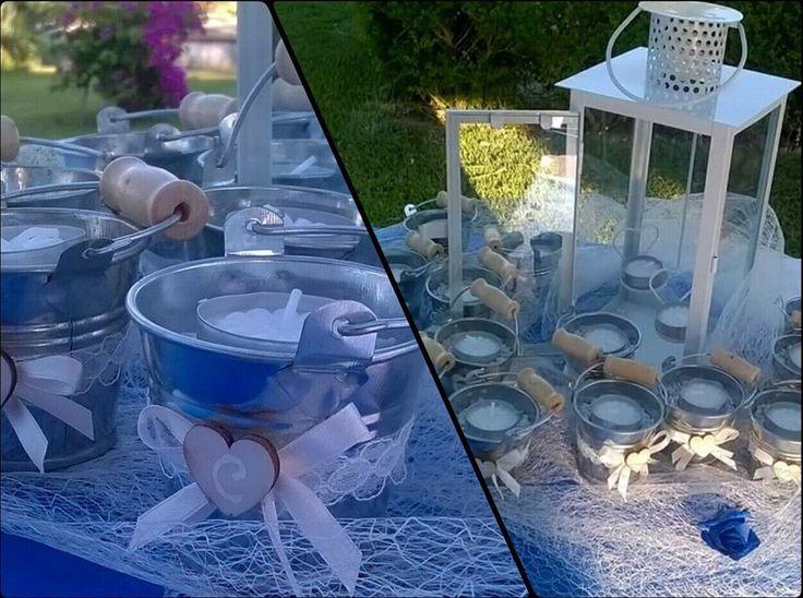 Bomboniere e tavolo sposi con i nostri prodotti