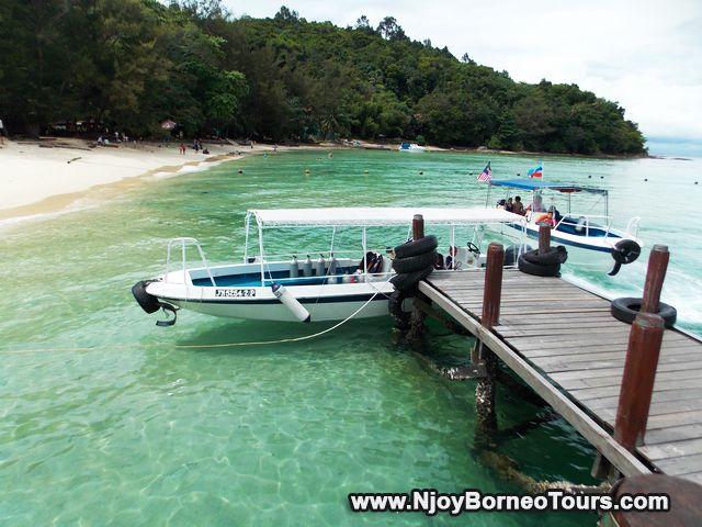 Boat at Sapi Island