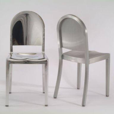 Morgan's Chair di Andree Putman per EMECO