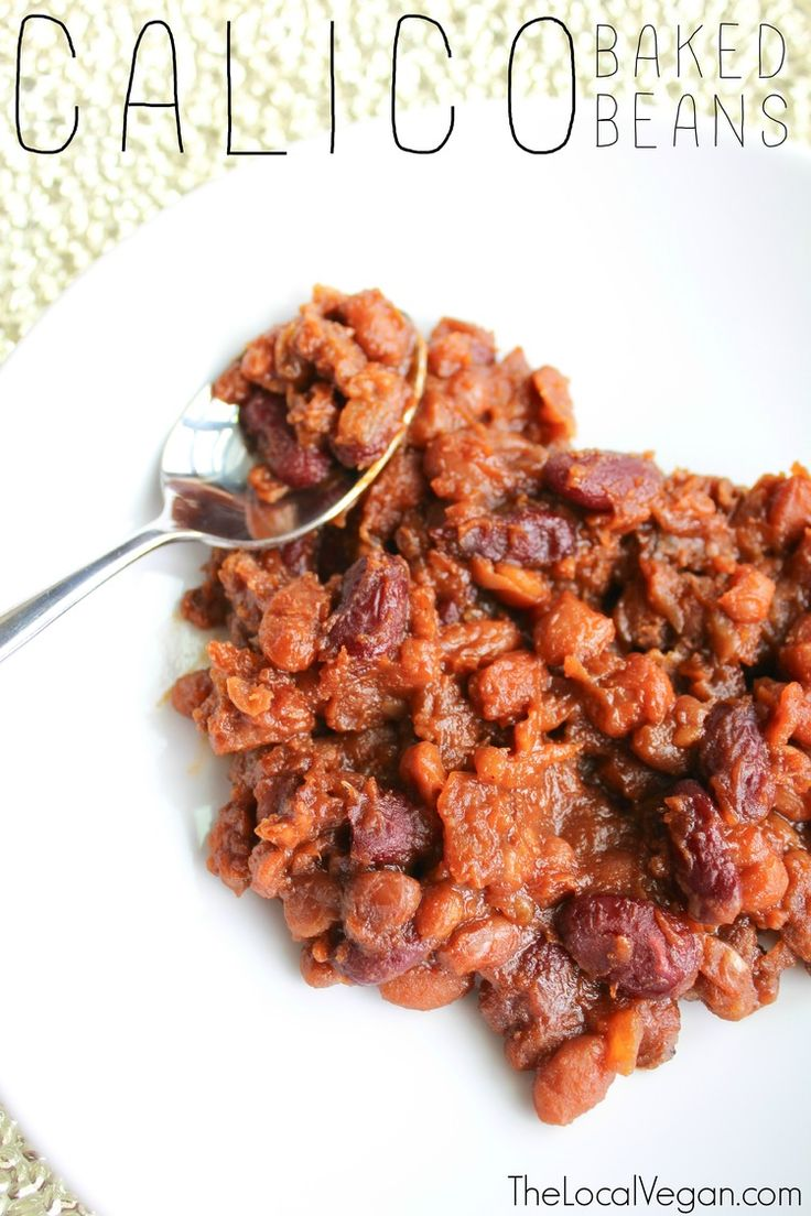 Calico Baked Beans - The Local Vegan // www.thelocalvegan.com