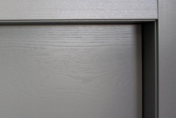 FBP porte | Collezione TINA - Dettaglio telaio interno #fbp #porte #legno #frassino #door #wood #ash
