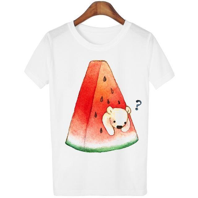 Hot Lady Casual Plus Size tumblr Blusa tshirt women Glasses Cat Funny Harajuku T-shirts Tees