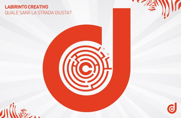 LABIRINTO CREATIVO: Quale sarà la strada giusta, A o B? :)  #creatività #game #giochi #labirinto