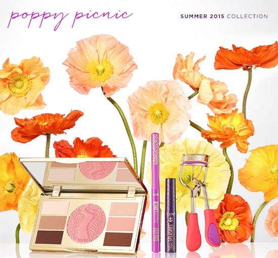 OMG how perfect is this? This is Tarte's new LE Collection for Summer 2015.