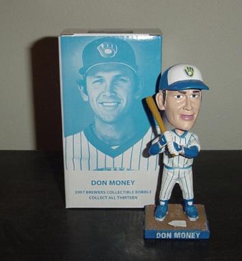 Don Money Milwaukee Brewers bobblehead