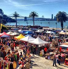 Treasure Island Flea, San Francisco,Flea Market,
