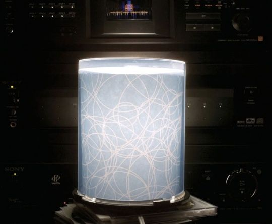 Turn Your Old CD Spindles Into A Groovy Lamp