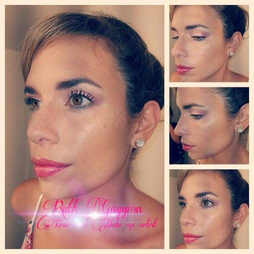 Maquillaje de verano para evangelina #canal9litoral