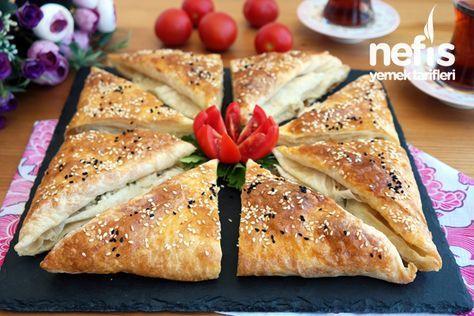 10 DAKİKADA Peynirli Zarf Böreği Tarifi – Çok kolay bir tarif