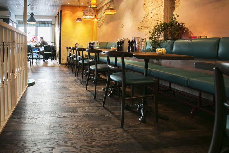 Hardwood planks 1838, Restaurant Tranquilo Gothenburg