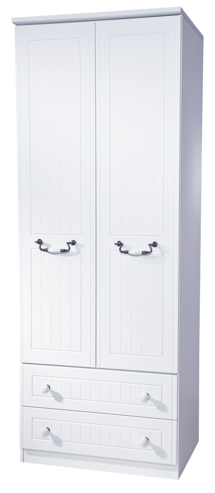 #Coniston 2 Door, 2 #Drawer #Wardrobe (available in 2 colour finishes)