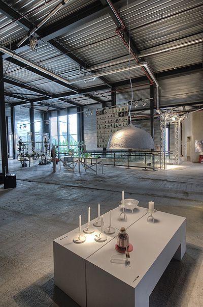Eat Drink Design Restaurant, Eindhoven, The Netherlands furnished with work of international design talents