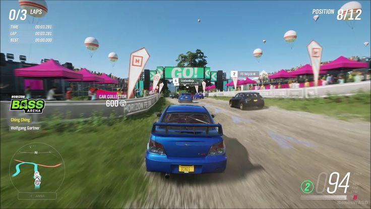 Forza horizon 4 walkthrough gameplay part 1 1080p hd
