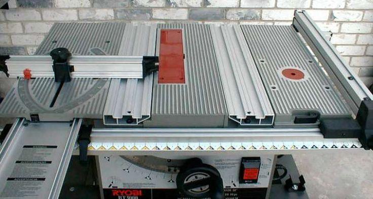 Dual - Dual Slot Miter Tables - RYOBI BT3000
