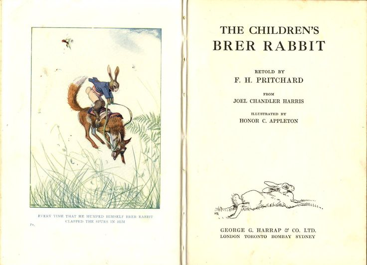 257 Best Images About Brer Rabbit Amp Friends On Pinterest